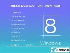 雨林木风Windows8.1 2021.04 64位 完整装机版