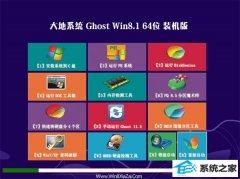 大地系统Windows8.1 2021.04 64位 完美装机版